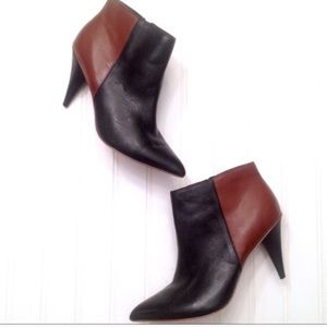 Dolce Vita Two Tone Leather Booties